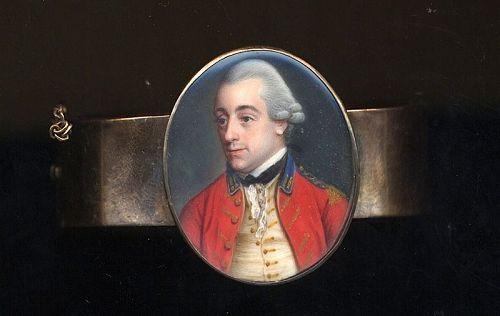 Samuel Cotes Portrait Miniature Bracelet c1780