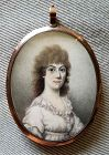 A Fine Miniature of a Young Woman c1810
