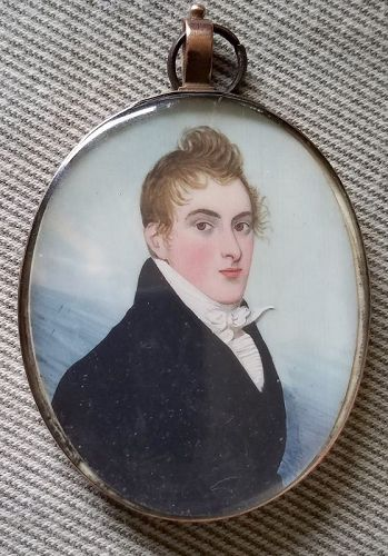 Double Sided Frederick Buck Miniature c1795