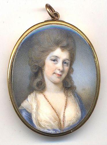 A Fine Horace Hone Portrait Miniature c1782