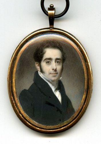 A Fine John Cox Dillman Engleheart Miniature c1815
