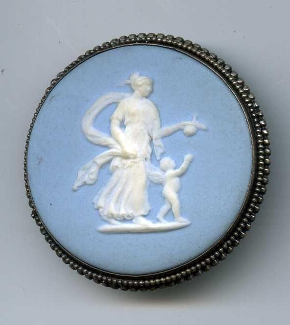Wedgwood Jasperware Button 18th Century