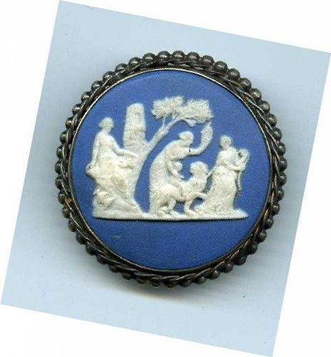 A Rare 18th c Wedgwood Pottery Button