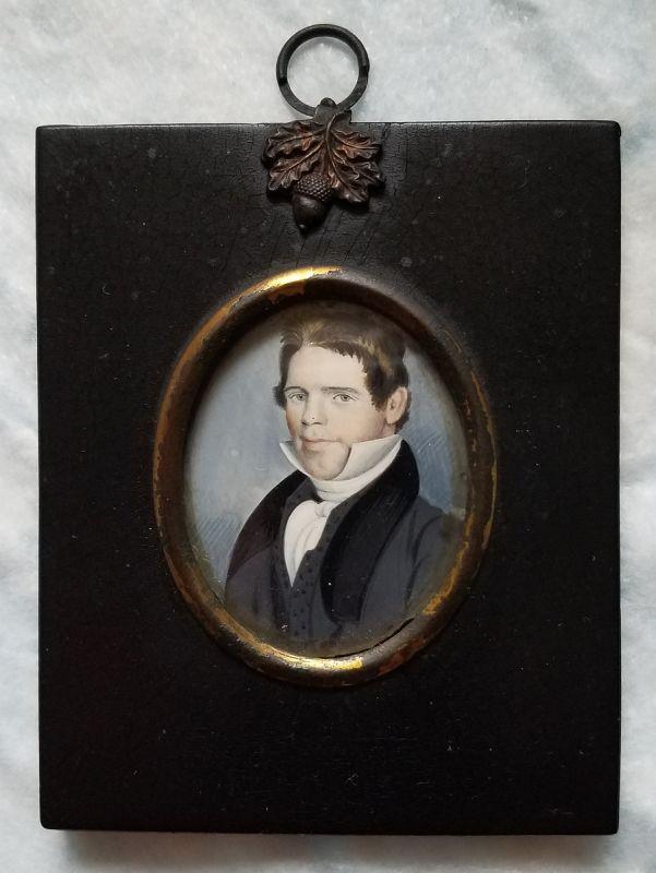 Portrait Miniature of a Gent c1830