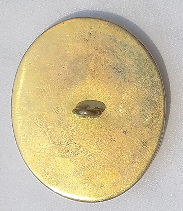 Important English Gold Button c1815