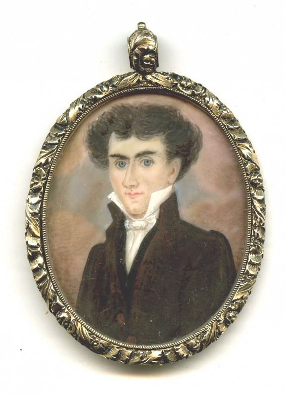 Abraham Parsell Portrait Miniature c1833