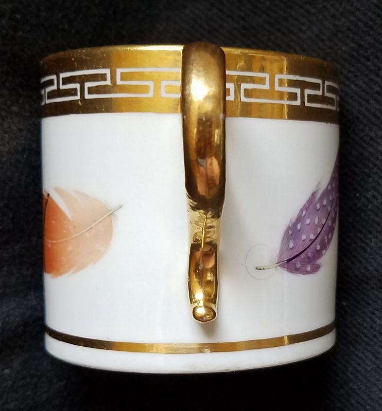 A Barr Flight Barr Worcester Porcelain Coffee Can c1807