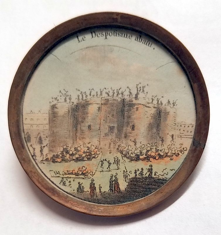 18th Century French Button - The Bastille