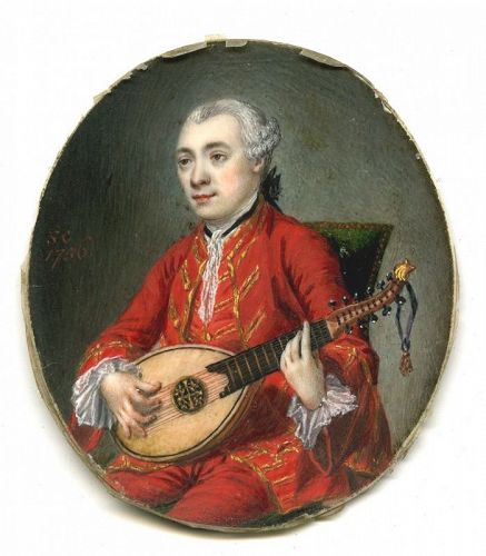 An Early Samuel Cotes Miniature Portrait c1756