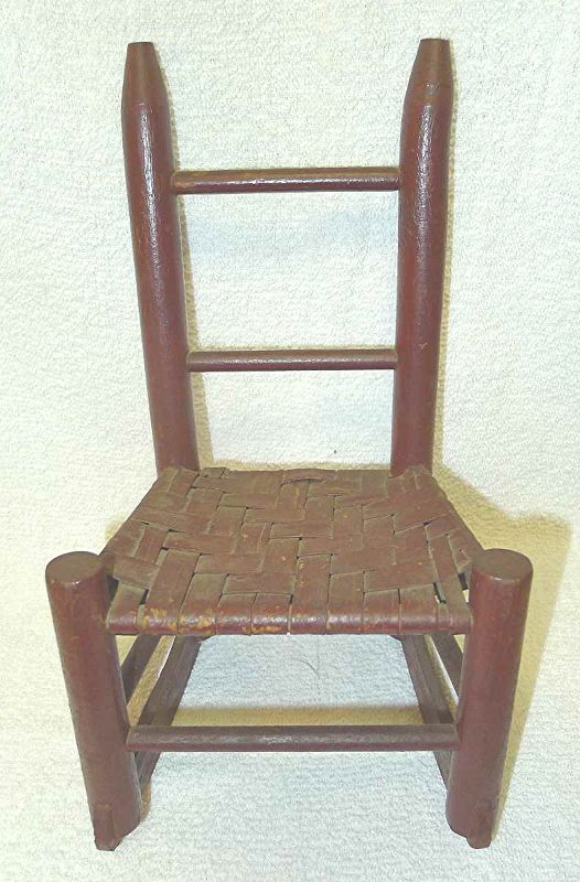 Salesman's Sample or Doll's Rocking Chair 19th Century