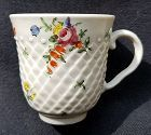 Superb Bristol Porcelain Coffee Cup c1775