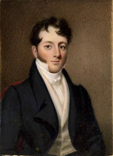 A Fine Nathaniel Rogers Miniature Portrait c1830