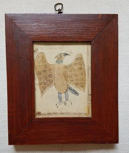 Anerican Fraktur School Art c1820