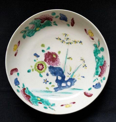 A Fine Bow Porcelain Bowl c1755