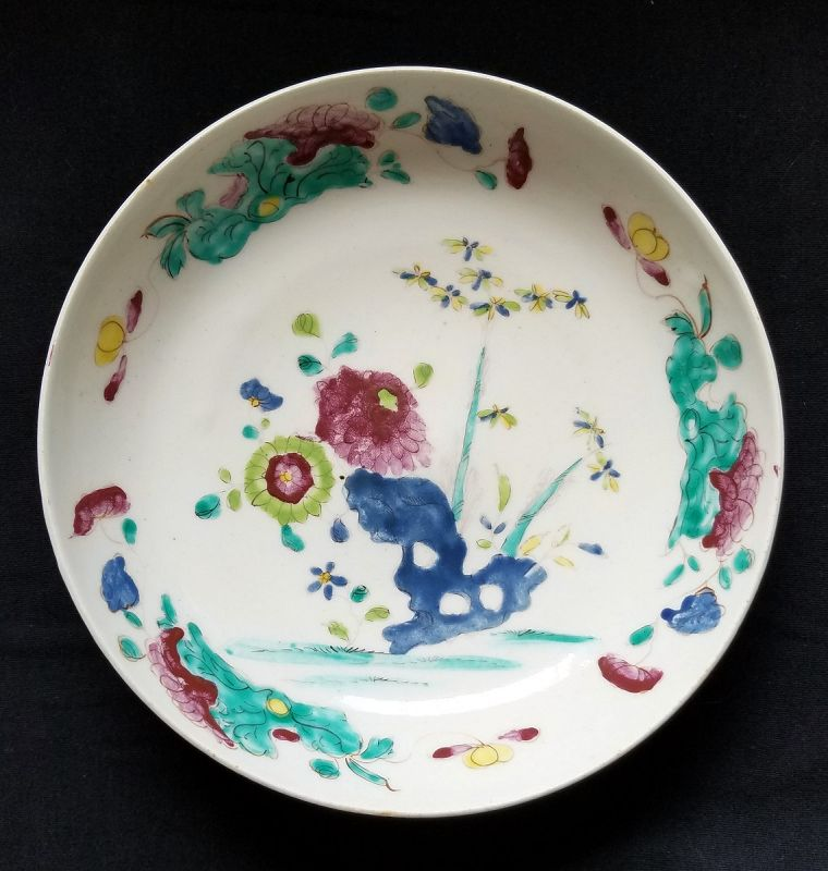 A Fine Bow Porcelain Bowl c1755