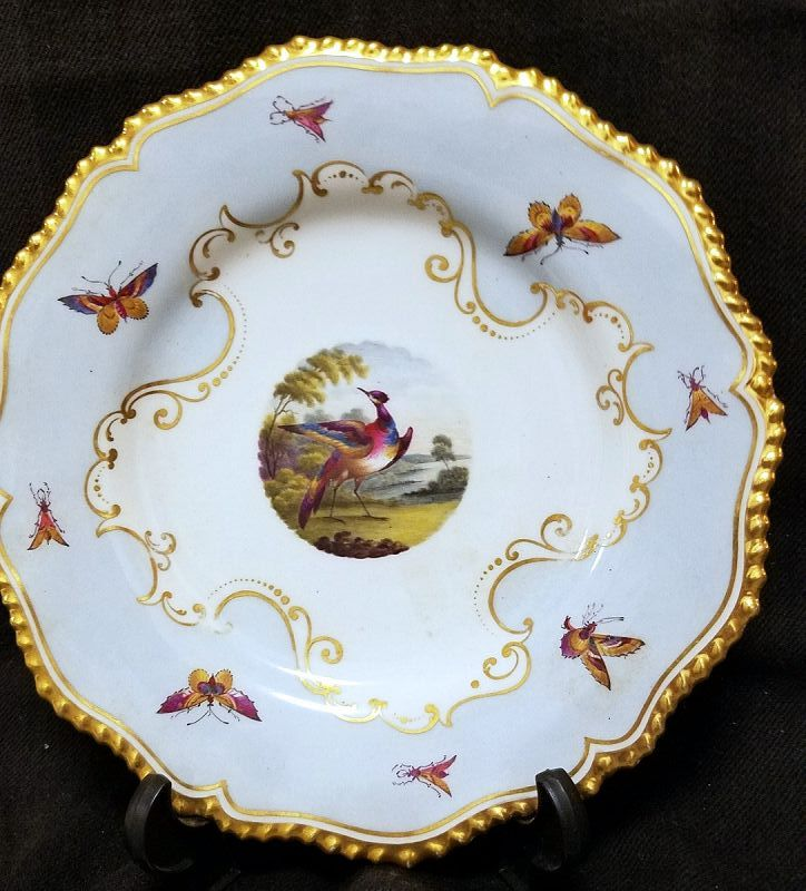 Superb Flight Barr Barr Harlequin Service Plate c1813 - 1819