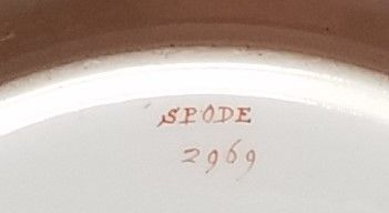 Spode Pattern 2969 Plate c1820