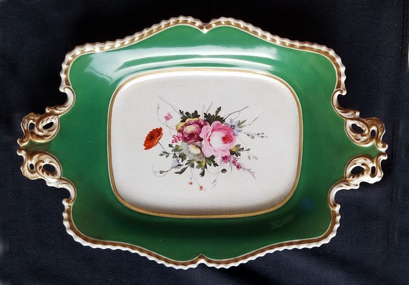 Chamberlain Worcester Porcelain Serving Dish c1830