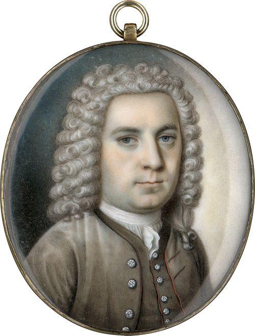 An Early Superb Miniature Portrait c1730