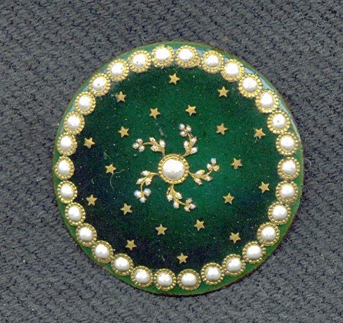 A Beautiful 18th Century French Button