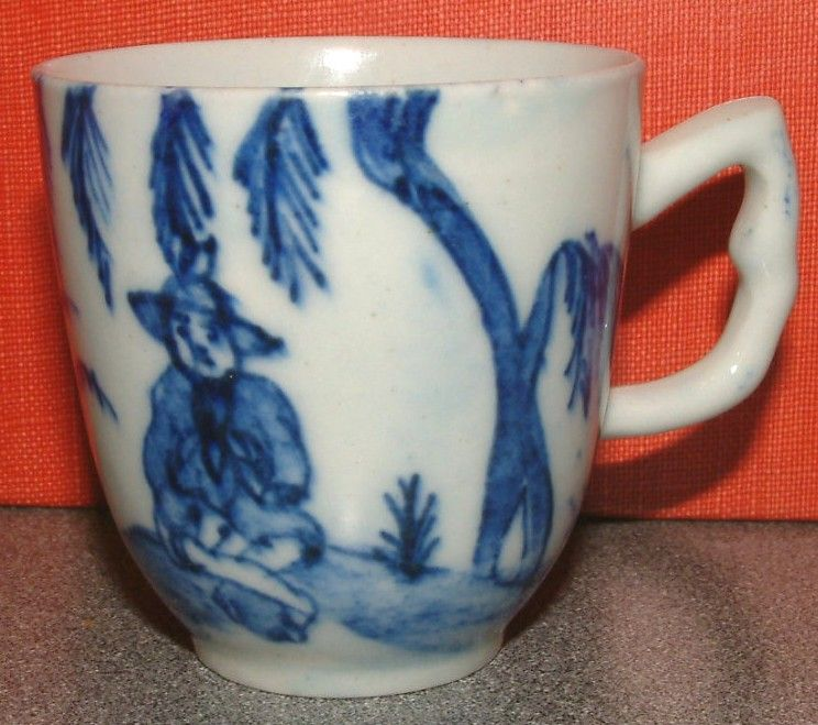 A Fine Early Bow Porcelain Coffee Cup c1751 - 2