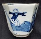 Chaffers Jumping Boy Beaker c1758