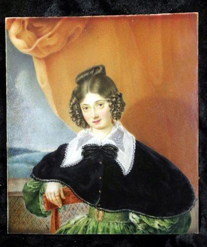 A Beautiful Miniature Portrait c1830