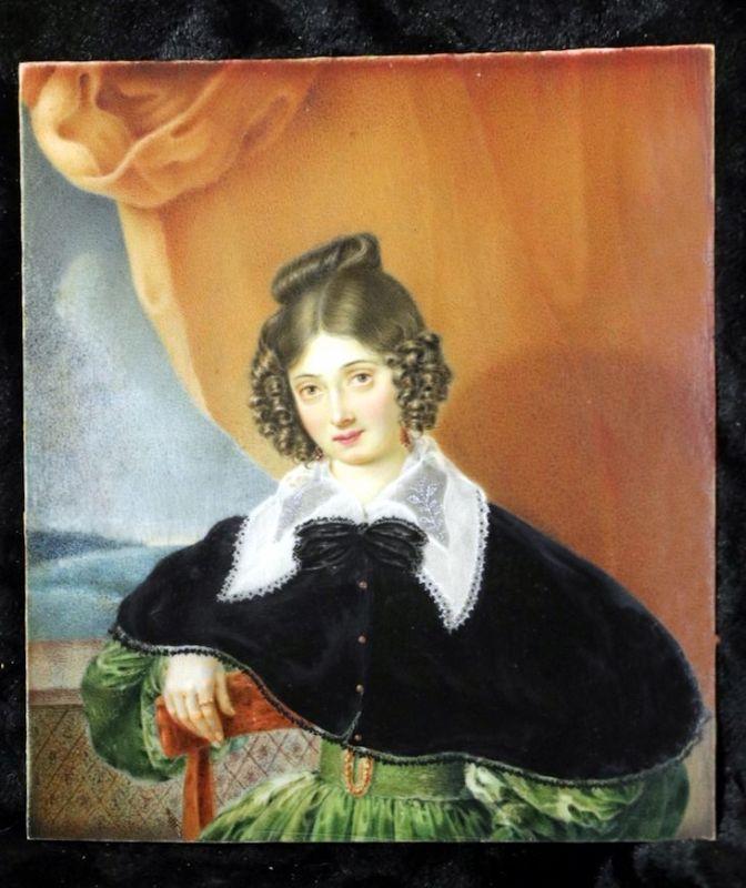 A Beautiful Miniature Portrait c1830