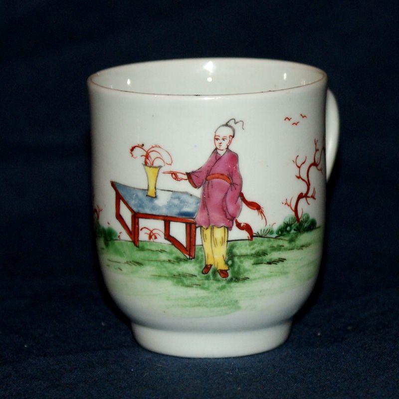 A Fine William Reid Liverpool Porcelain Coffee Cup c1758