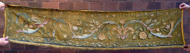 Early 17th Century Embroidered Textile