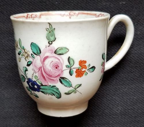 Christian's Liverpool Porcelain Coffee Cup c1765