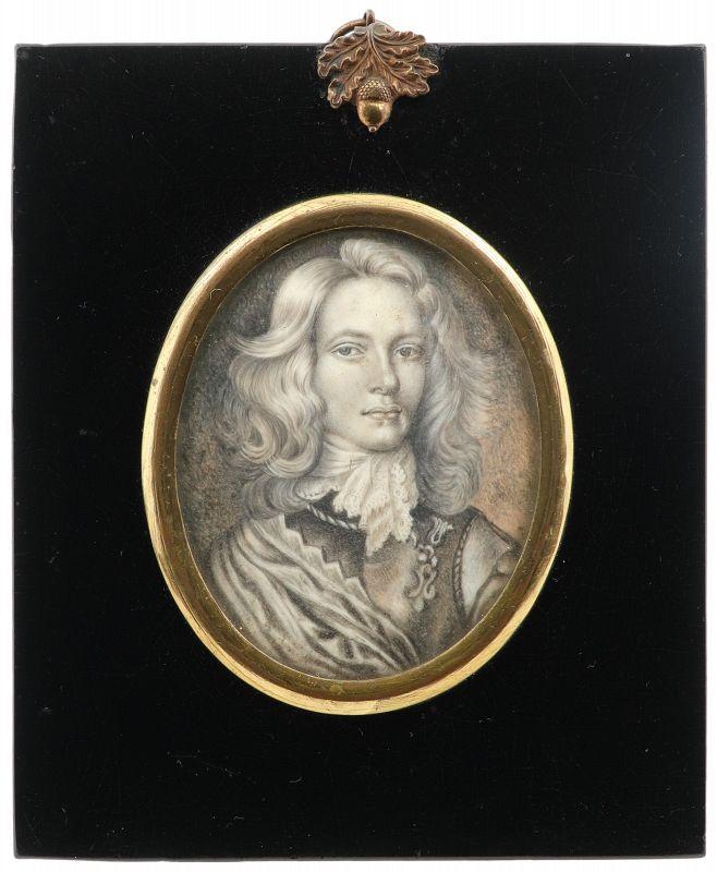 H.M.S. Stuart Portrait Miniature c1841