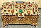 Austrian Bronze Jewelry Box  c 1930