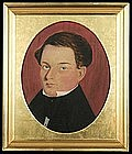 Portrait of Isaac Henderson by Giddings Ballou; c 1840