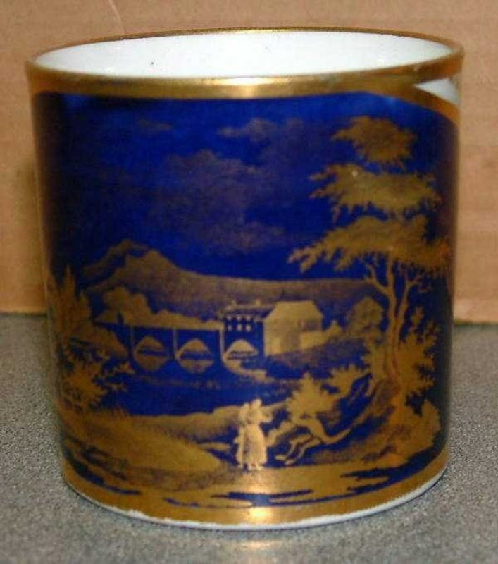 Elegant English Coffee Can c 1810