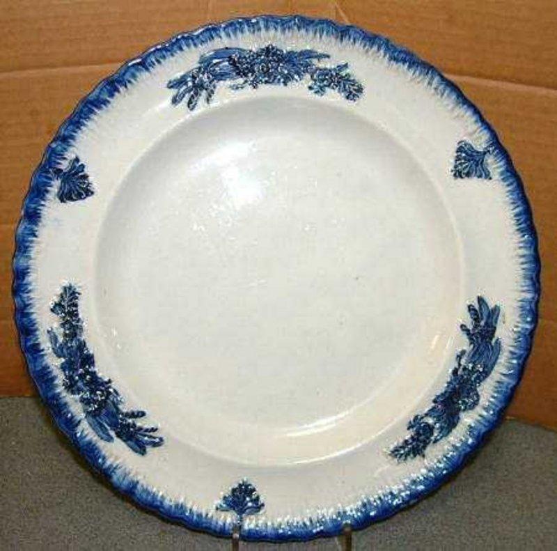 Fancy Leeds Featheredge Plate C 1825