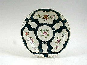 First Period  Worcester Saucerdish; C 1770