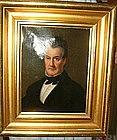 Oil on Canvas Portrait of New York Gentleman; C 1840