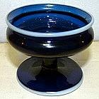 Rare Antique English Glass Master Salt  c 1790