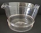 Huge Wine Glass Rinser c 1835