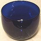 An English Bristol Blue Finger Bowl c 1810