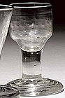 Antique Firing Glass Dram c 1750