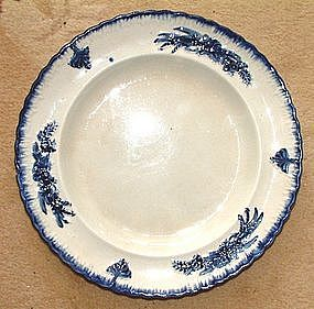 Leeds Feather Edge Type Molded Plate  c 1825