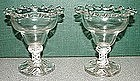 A Fine Pair of Opaque Twist DSOT Sweetmeats  c 1760