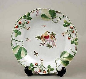 Rare Chelsea Red Anchor Plate  c1755