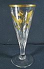 James Giles Gilded Ale Glass  c1770
