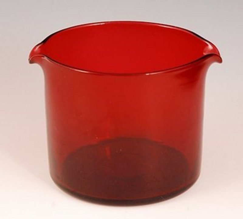Rare English Wine Glass Rinser c1810