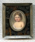 Hyacinthe Mercier Miniature Portrait Painting  c1810