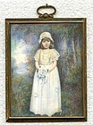 American Miniature Painting Signed by Artist