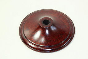 Chinese Hardwood Lamp Top
